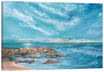 Into the Horizon II Canvas Art Print