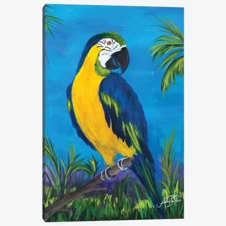 Island Birds II Canvas Print #DRC28} by Julie Derice Canvas Wall Art