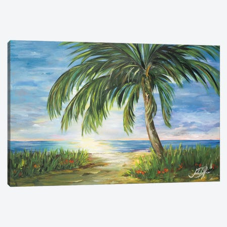 Island Dream Canvas Print #DRC29} by Julie Derice Canvas Artwork