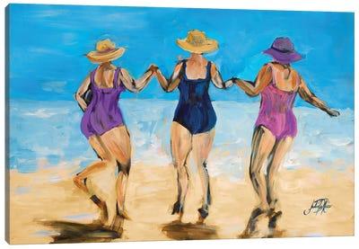 Ladies on the Beach II Canvas Art Print