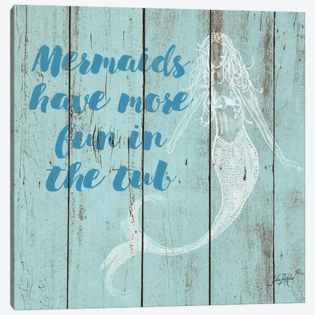 Mermaid Saying I 3-Piece Canvas #DRC38} by Julie Derice Canvas Print