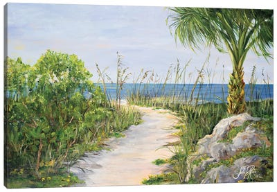 My Path to Paradise Canvas Art Print