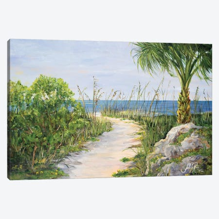My Path to Paradise Canvas Print #DRC40} by Julie Derice Canvas Wall Art
