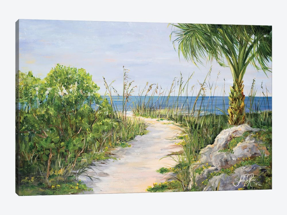 My Path to Paradise 1-piece Canvas Print