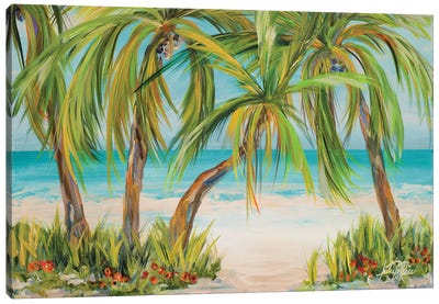 Palm Life Canvas Art Print