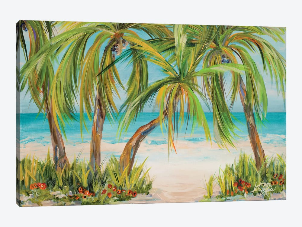 Palm Life by Julie Derice 1-piece Canvas Print