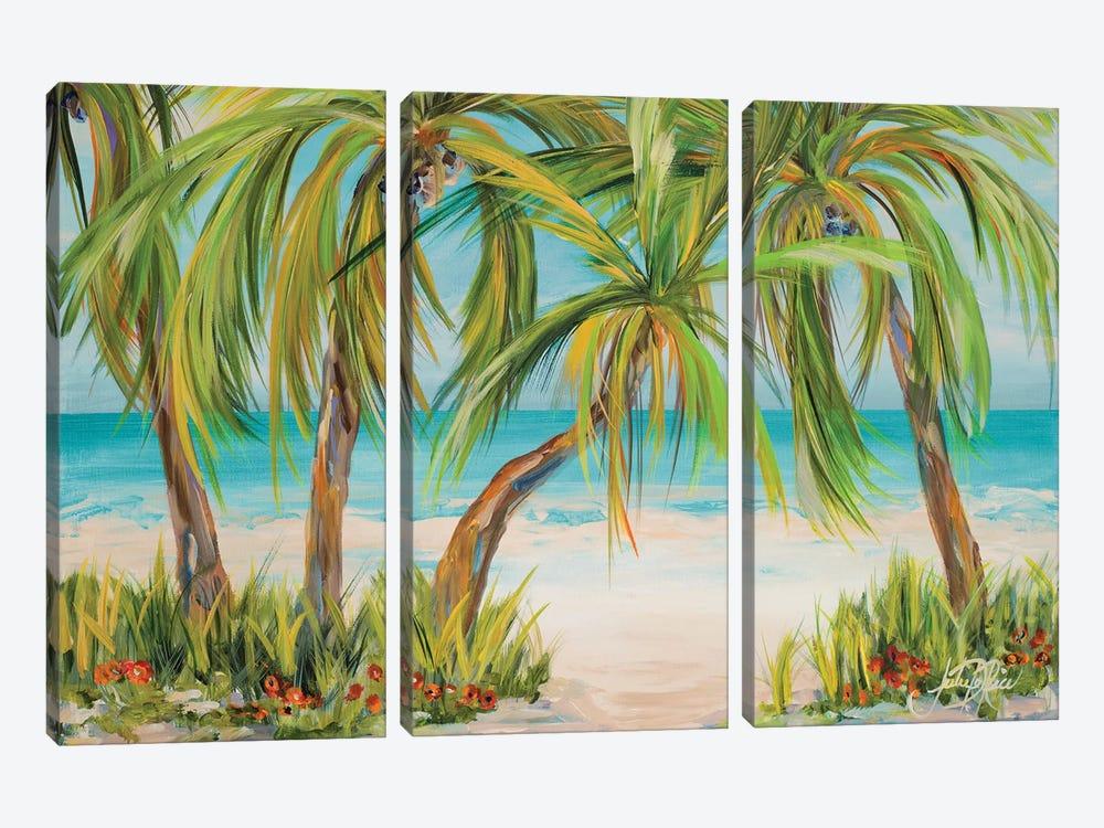 Palm Life by Julie Derice 3-piece Canvas Art Print
