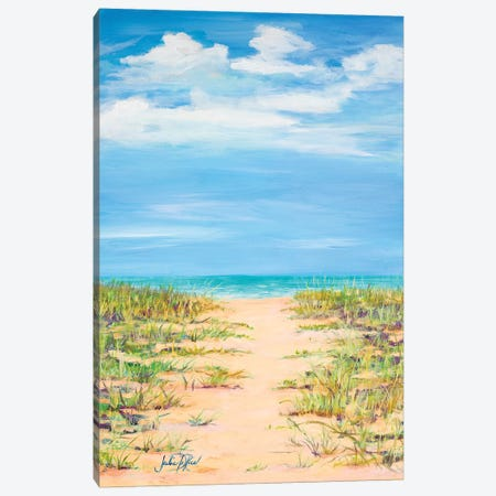 Path to Relaxation Canvas Print #DRC43} by Julie Derice Canvas Artwork