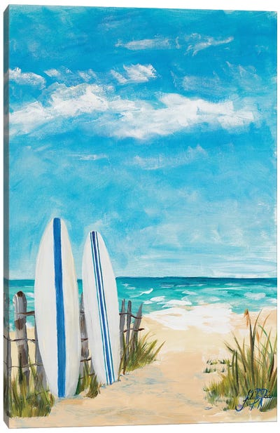 Tropical Surf II Canvas Art Print