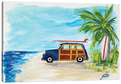 Tropical Vacation I Canvas Art Print