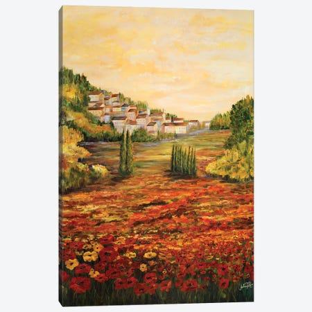 Tuscany Scene Canvas Print #DRC64} by Julie Derice Canvas Print