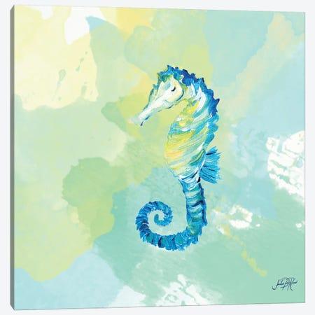 Watercolor Sea Creatures IV Canvas Print #DRC72} by Julie Derice Art Print