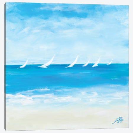 Windjammer I Canvas Print #DRC74} by Julie Derice Canvas Art