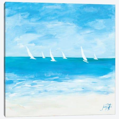 Windjammer II Canvas Print #DRC75} by Julie Derice Canvas Art