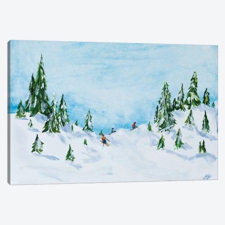 Winter Fun I Canvas Print #DRC84} by Julie Derice Canvas Art Print