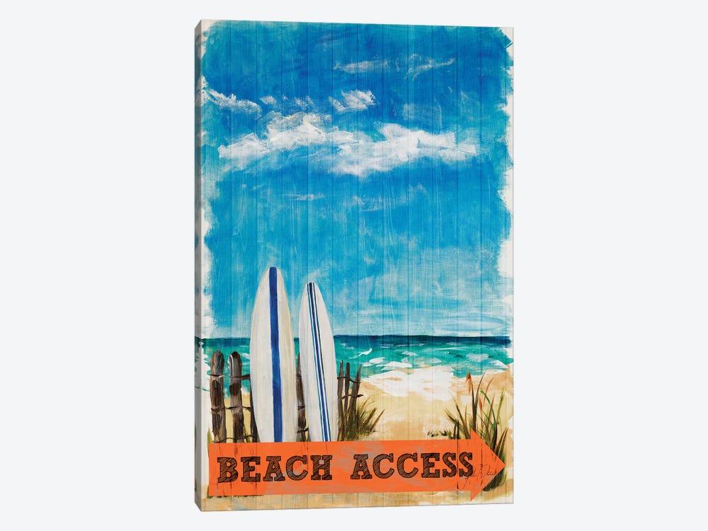 Beach Access by Julie Derice 1-piece Canvas Art Print