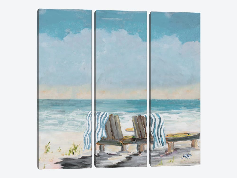 Coastal Sunsets by Julie Derice 3-piece Art Print