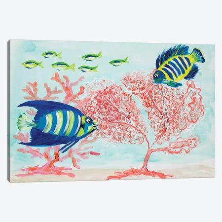 Coral Reef II Canvas Print #DRC97} by Julie Derice Canvas Art