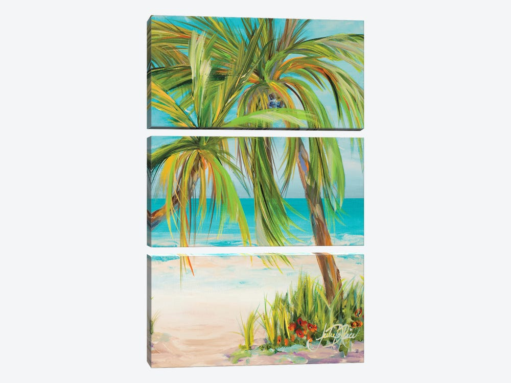 Away from it All II by Julie Derice 3-piece Canvas Art Print