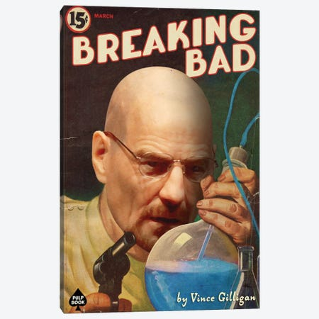 Breaking Bad Canvas Print #DRD12} by David Redon Canvas Art