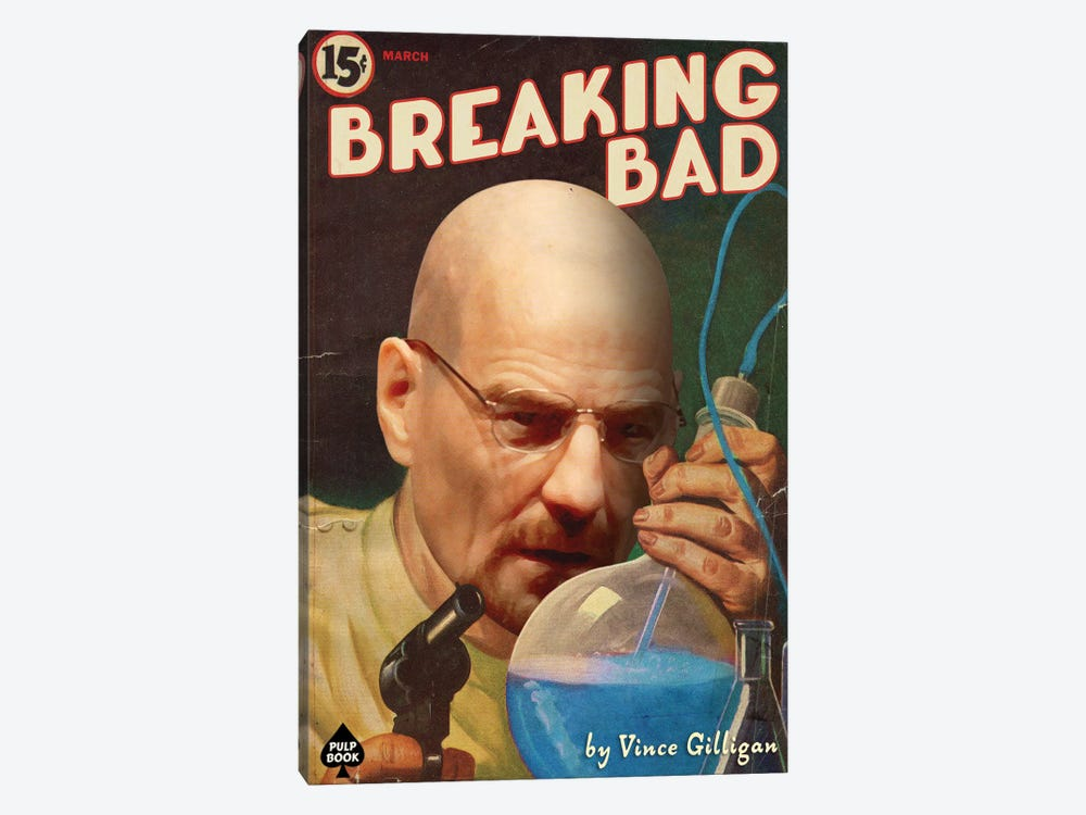 Breaking Bad by David Redon 1-piece Canvas Print