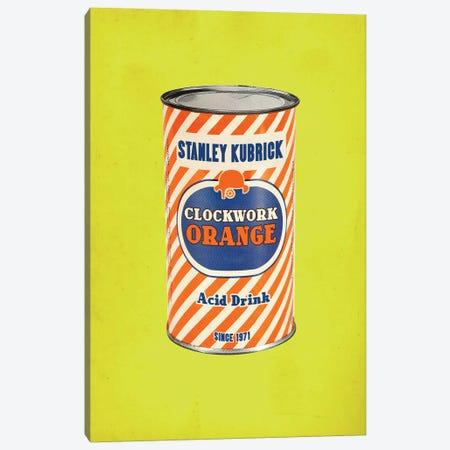 Clockwork Orange Popshot Canvas Print #DRD17} by Ads Libitum Art Print
