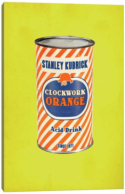 Clockwork Orange Popshot Canvas Art Print