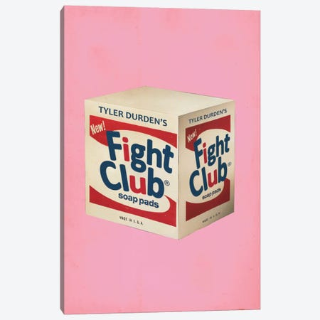 Fight Club Popshot Canvas Print #DRD24} by David Redon Canvas Artwork