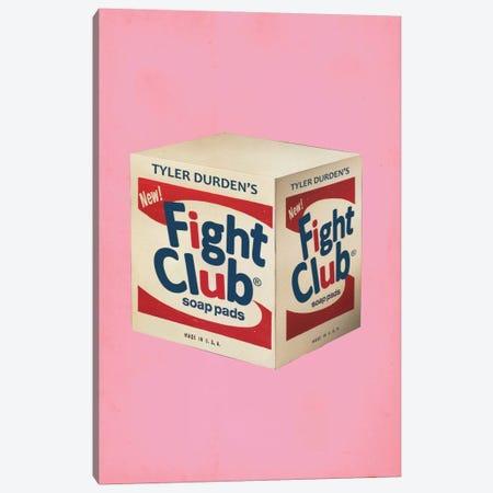Fight Club Popshot Canvas Print #DRD24} by Ads Libitum Canvas Artwork