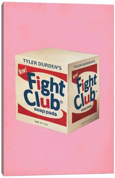 Fight Club Popshot Canvas Art Print