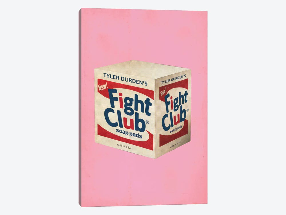 Fight Club Popshot by David Redon 1-piece Canvas Wall Art
