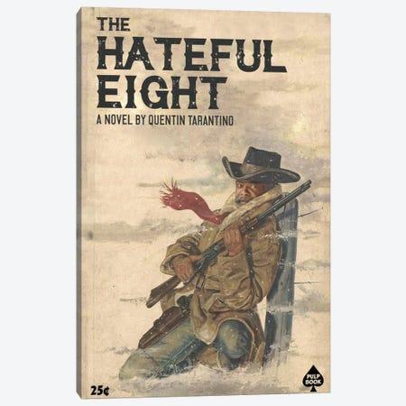 Hateful Eight Canvas Print #DRD34} by Ads Libitum Canvas Print