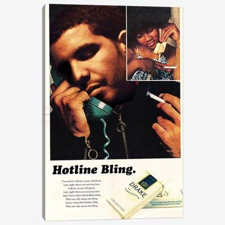 Hotline Bling Canvas Print #DRD38} by David Redon Canvas Wall Art