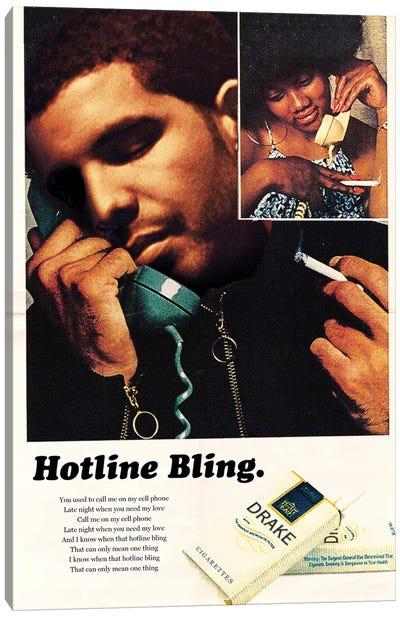 Hotline Bling Canvas Art Print