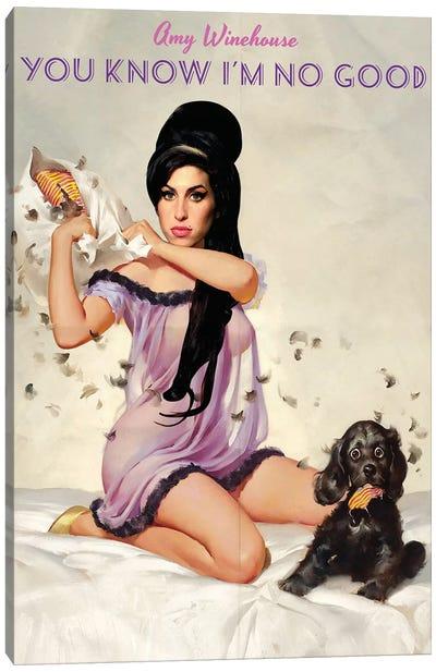 Amy Canvas Art Print