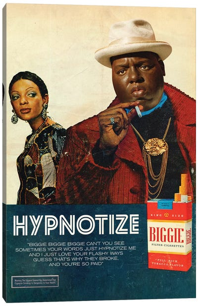 Hypnotize Canvas Art Print