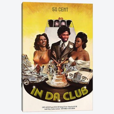 In Da Club Canvas Print #DRD42} by Ads Libitum Canvas Print