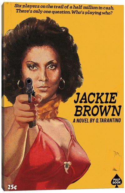 Jackie Brown Canvas Art Print