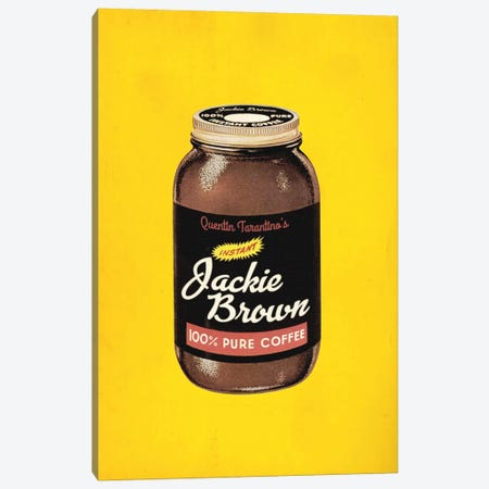 Jackie Brown Popshot Canvas Print #DRD46} by David Redon Canvas Art