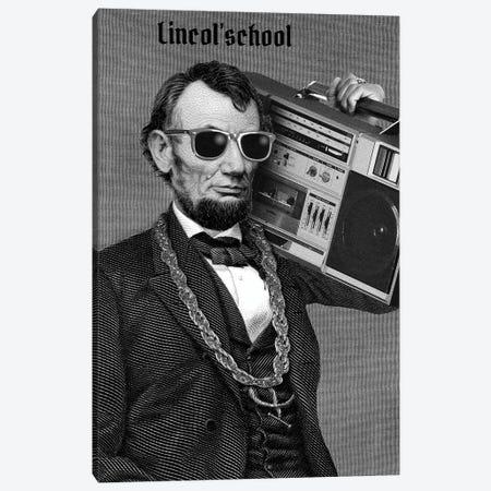 Lincol'school Canvas Print #DRD51} by David Redon Canvas Art