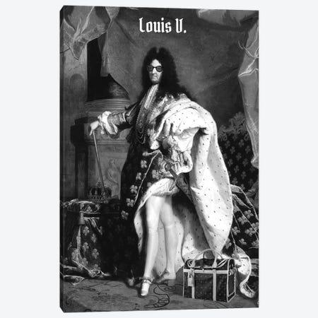 Louis V Canvas Print #DRD52} by David Redon Canvas Art
