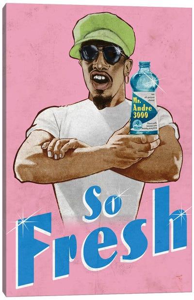 Mr Fresh Canvas Art Print