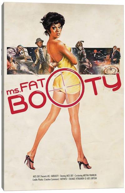 Ms Fatbooty Canvas Art Print