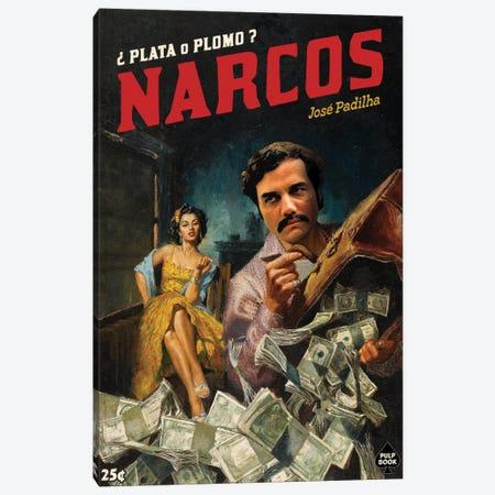 Narcos Canvas Print #DRD59} by Ads Libitum Canvas Artwork