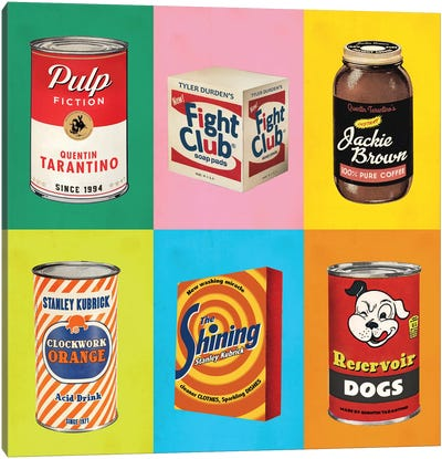 Popshots Canvas Art Print