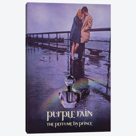 Purple Rain Canvas Print #DRD65} by Ads Libitum Canvas Art