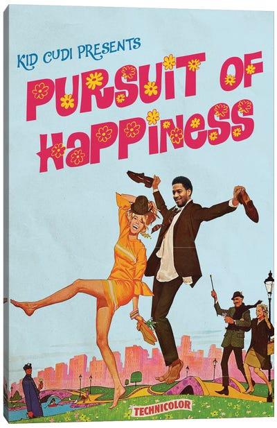 Pursuit Of Happiness Canvas Art Print