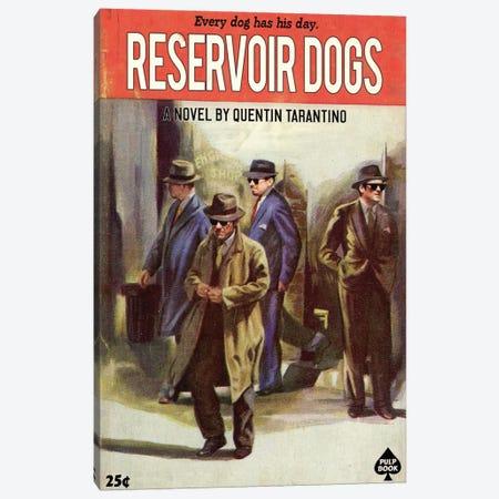 Reservoir Dogs Canvas Print #DRD68} by Ads Libitum Canvas Art Print