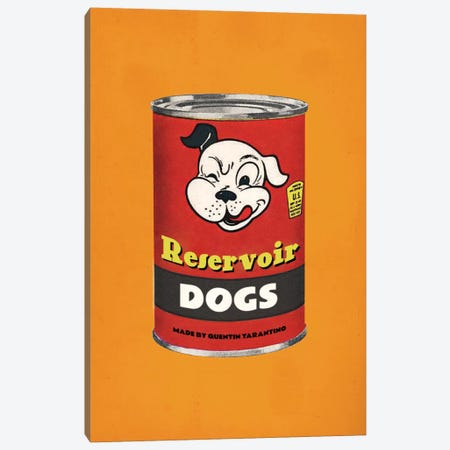 Reservoir Dogs Popshot Canvas Print #DRD69} by Ads Libitum Art Print