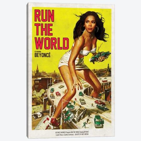 Run The World Canvas Print #DRD71} by David Redon Canvas Artwork